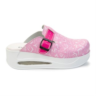 Manner Hospital Themed Pink Air Max Sabo Slippers