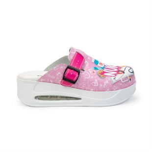 Sabomar Manner Nurse Themed Pink Air Max Sabo Slippers